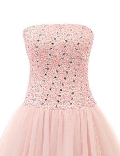 Dresstells®Vestido Largo Princesa de Tul con Lazo vestido de novia Morado