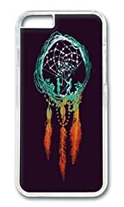 Diy For Iphone 5C Case Cover WENJORS Cool Dream Catcher the rustic magic Hard Case Protective Shell Cover For PC Black