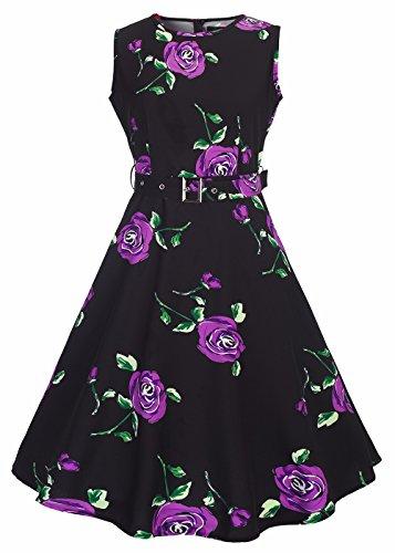 60s flower dress - 4
