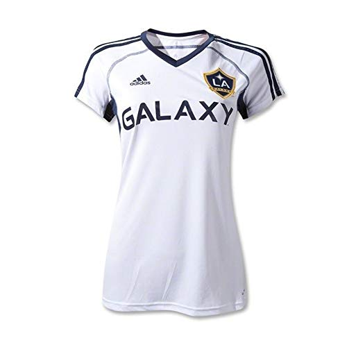 World Cup adidas L.A. Galaxy Women's 2012 Home Replica Jersey - White - Replica Ladies Jersey Home