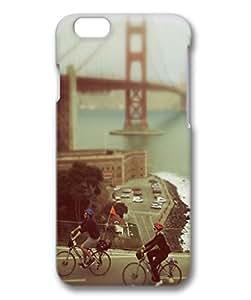 Biking In San Francisco Custom Protective 3D Case for iPhone 6 4.7 -1220213