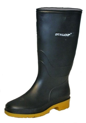 Black Wellington Size Wellies Rain Boots 6 Dunlop Festival Uk W1207A Snow Womens z5ywXqUp