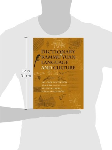 Dictionary of Kammu Yuan Language and Culture (Nordic Institute of Asian Studies Nias Reference Library)