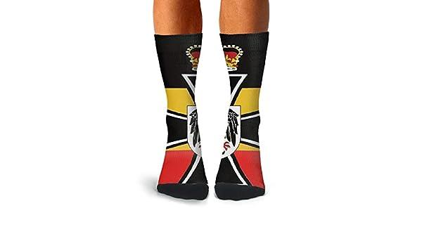 KCOSSH Cute Unicorn Mens Crew Socks Novelty Over The Calf Socks For Men Athletic Compression Stockings Men