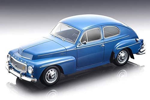 Tecnomodel TM18-106 E 1964 ボルボ PV 544 ストリートバージョン ダークブルー マイソスシリーズ 限定版 70ピース ワールドワイド 1/18 モデルカー