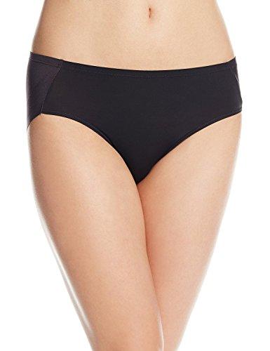 Bali Women's One Smooth U Ultra Light Hipster Panty, Black, X-Large/8