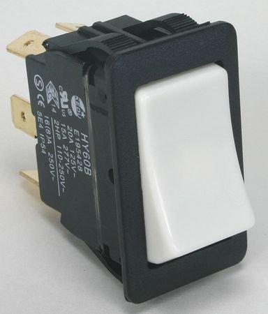 Power First 2LNJ5 Rocker Switch, Momentary, DPDT, 20/15A