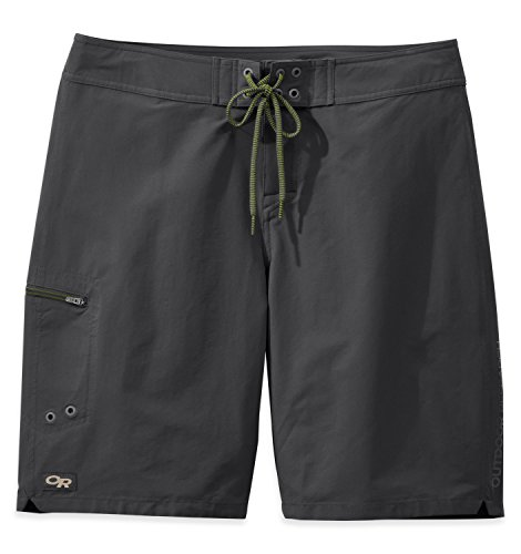 Outdoor Research Men's Phuket Board Shorts, Charcoal, 32