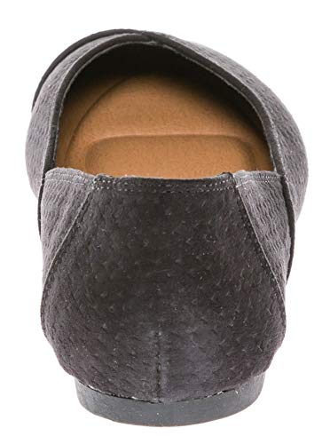 Women's Comfort su Ballerina Casual Flat Shoes Slip Black On CALICO KIKI HIBq5HZ