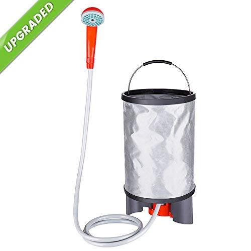Baban Tragbare Außendusche 10 Tlg Camping Dusche Set Handbrause