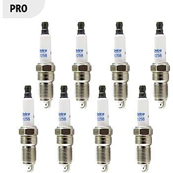 Acdelco 41-110 OEM Gm 12621258 Professional Iridium Spark Plug - Set of 8