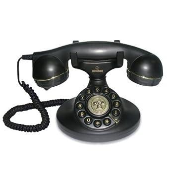 6a14c548fffcef Brondi Vintage 10 Téléphone fixe Noir  Amazon.fr  High-tech