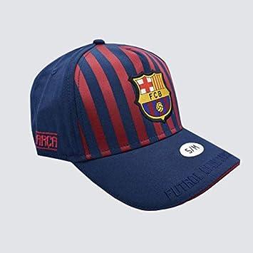 Gorra Junior FC. Barcelona 2018-2019 - Producto Licenciado - Talla S/M niño Regulable - Poliéster 100%: Amazon.es: Deportes y aire libre
