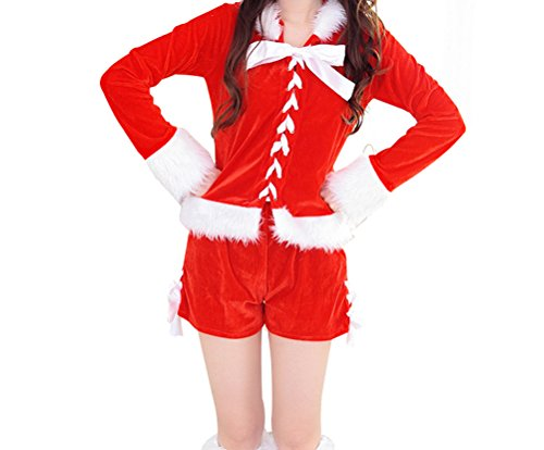 YeeATZ Sexy Stage Performance New Fashion Christmas Costume (Captain Caveman Costume)