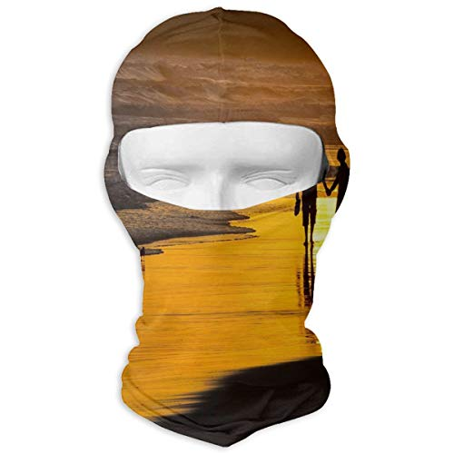 Balaclava Love Strolling At Dusk Full Face Masks UV Protection Ski Hat Womens Headcover for Hiking