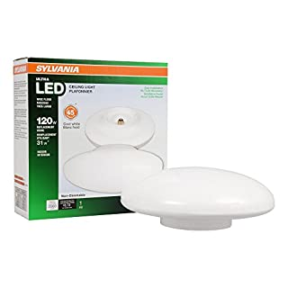 75124 120W Equivalent Ultra LED Porcelain Socket Medium Base Retrofit for Ceiling Light Fixtures - 4000K (Cool White)
