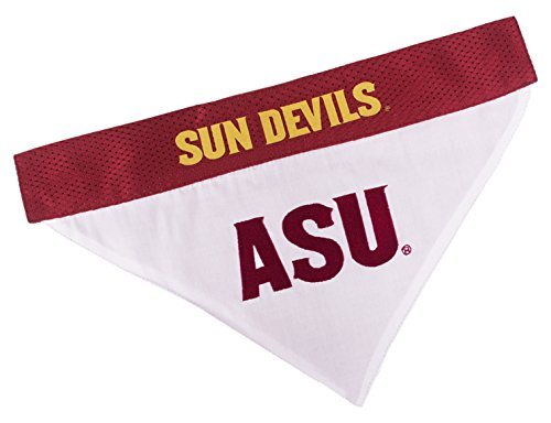 Pets First Collegiate Pet Accessories, Reversible Bandana, Arizona State Sun Devils, -