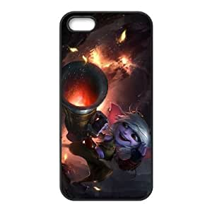 iPhone 5 5s Cell Phone Case Black League of Legends Tristana 0 PD5326825