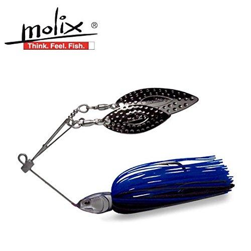 モリックス ラヴァースピナーベイト 3軸ワイヤー 1/2oz Molix Love Spineerbait 23 Blue Gill 14gの商品画像
