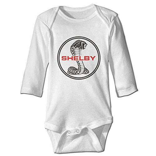 Ford Mustang SVT Cobra Shelby Long Sleeve Baby Onesies Bodysuit Baby Outfits Jumpsuit (Ford Shelby Svt)