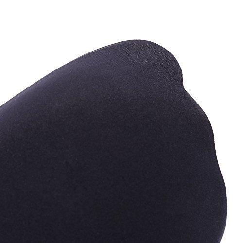 DEBAIJIA Mujeres Sujetador Adhesivo Push Up Reutilizable Silicone Sostén Invisible Interior Bra Sin Tirantes Negro A Taza