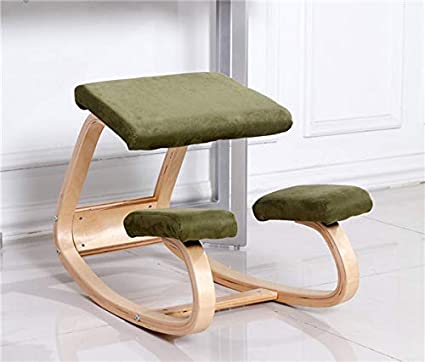 Ergonomic Knee Chairs Stool Home Office Furniture Ergonomic Rocking Wooden  Kneeling Computer Posture Chair Design (