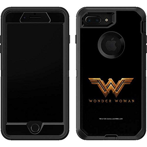 big sale 44996 980f6 Amazon.com: Skinit Wonder Woman Gold Logo OtterBox Defender iPhone 7 ...