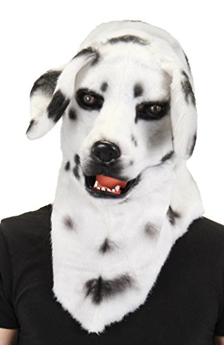 elope Dalmatian Mouth Mover Costume Mask ()