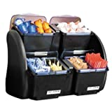 San Jamar BDS2483NL Dome Stacker with Mini 2/2 Combo Lids/Trays