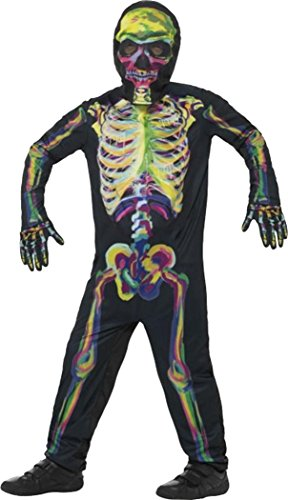 Glow In The Dark Halloween Costumes Uk (Glow In The Dark Skeleton Costume Age 12+)