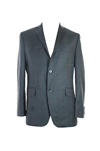 Alfani Charcoal Plaid Slim Fit Jacket S