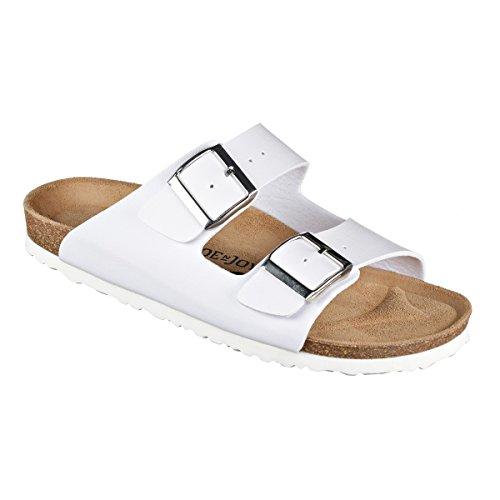 JOE N JOYCE London SynSoft Suelo blando sandalias Normal White