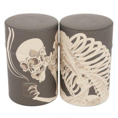 Kotobuki Japanese Skeleton 100g Tea Canister #499-739 499-555
