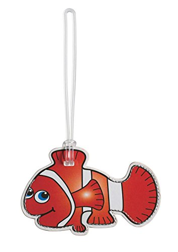 Clown Fish Luggage Tag Baggage