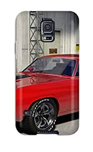 Galaxy S5 Hard Back With Bumper Silicone Gel Tpu Case Cover Plymouth