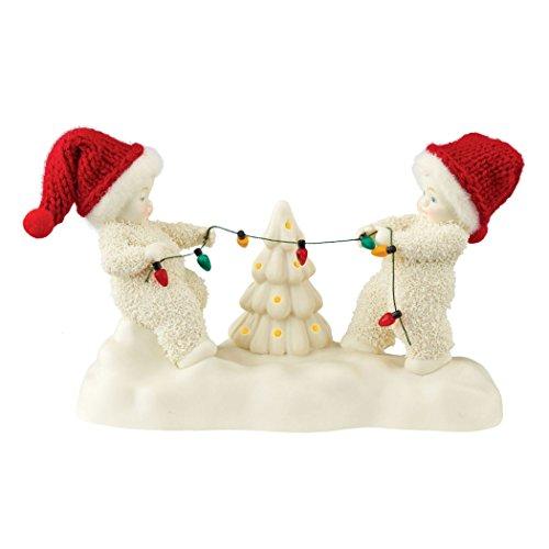 Department 56 Snowbabies Classics Tug O Lights Figurine, 4.33