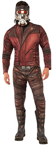 Rubie's Men's Guardians of the Galaxy Volume 2 Star-Lord Costume, Deluxe, Standard - Mens Costumes