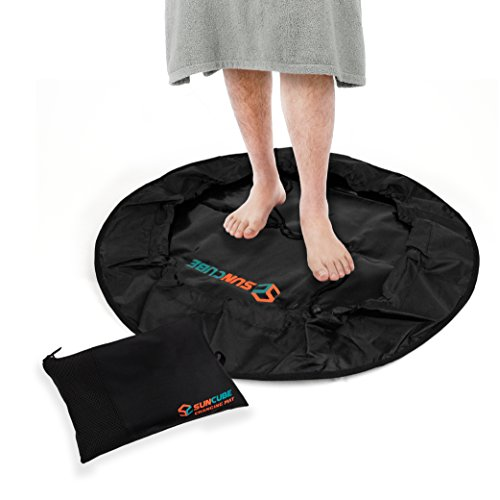 SUN CUBE Wetsuit Changing Mat and Dry Carry Bag | Waterproof