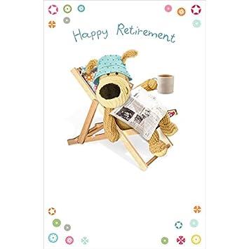 boofle happy retirement greeting card cute range greetings cards