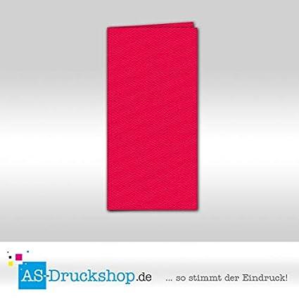 Plegable Tarjeta/doble tarjeta - Color Rojo Carmesí/10 ...