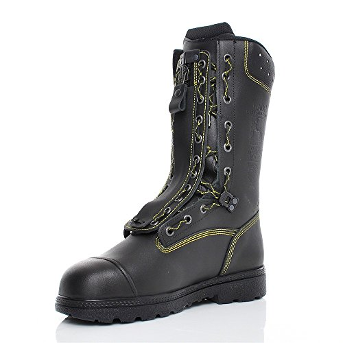 Haix Fireflash Gamma Schnur Zipper Laarzen Met Beschermingsklasse 2