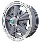PREMIUM 5 RIB WHEEL, Grey, 5.5'' Wide, Fits 5 on 205mm VW