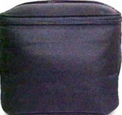 Cosmetic Bags-Sicara Black Tall Train Case 11 pcs sku# 903924MA