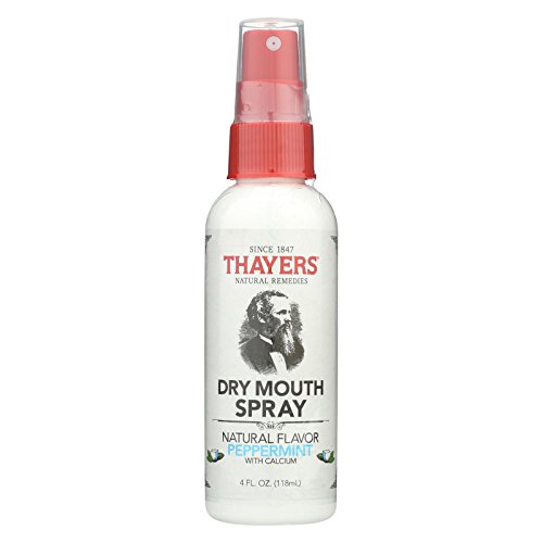 Thayers Dry Mouth Spray - Natural Peppermint Flavor - 4 fl oz ()