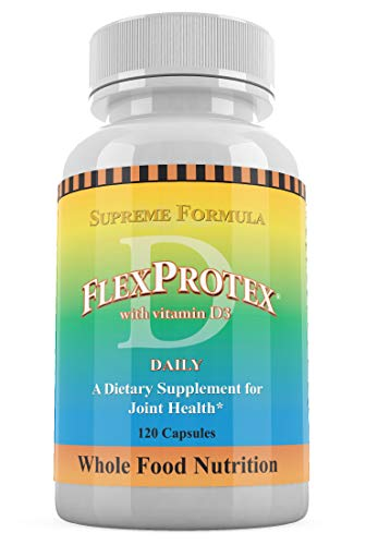FlexProtex D Daily Joint Support Vitamin D3 PLUS 1 Plain Silver Foil Pack CoralCal Daily Calcium 6 Sachets Dietary Supplement (1 bottle)
