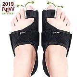 Caretras Bunion Corrector, Orthopedic Bunion Splint, Big Toe Separator Pain Relief, Hammer Toe Straightener, Day Night Support for Women Men (Simple Elegant Splints)