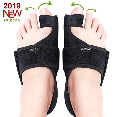 - Caretras Bunion Corrector, Orthopedic Bunion Splint, Big Toe Separator Pain Relief, Non-Surgical Hallux Valgus Correction, Hammer Toe Straightener, Day Night Support