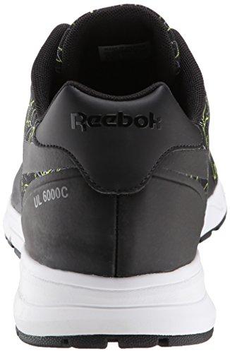 Reebok Homme Ul 6000 Cage Chaussure Classique Noir / Solaire Jaune / Plat Gris / Blanc