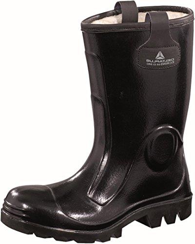 Delta plus botas - Juego bota seguridad ecrins negro talla 42(1 par)