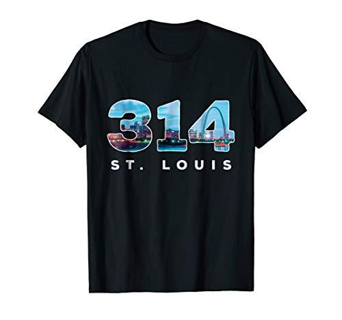 314 STL Pride St. Louis Area Code T-Shirt]()